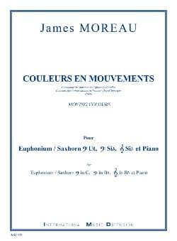 Couleurs en mouvements - James Moreau - Partition - laflutedepan.com