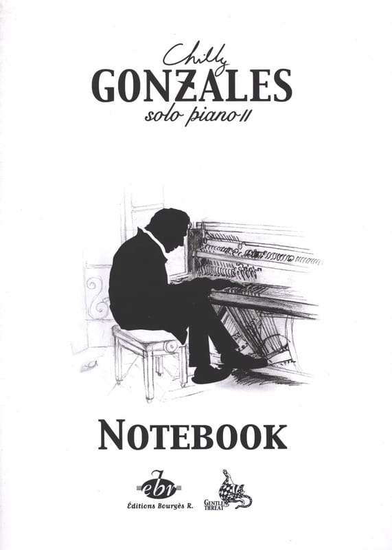 Chilly Gonzales - NoteBook Solo Piano II - Partition - di-arezzo.it