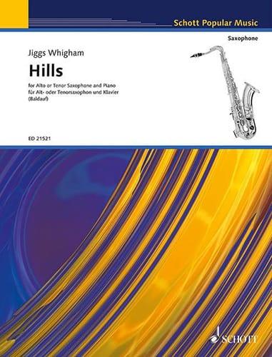 Hills - Jiggs Whigham - Partition - Saxophone - laflutedepan.com