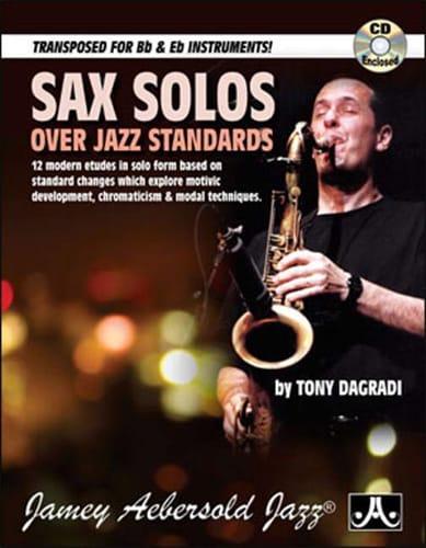 Sax solos over jazz standards - Tony Dagradi - laflutedepan.com