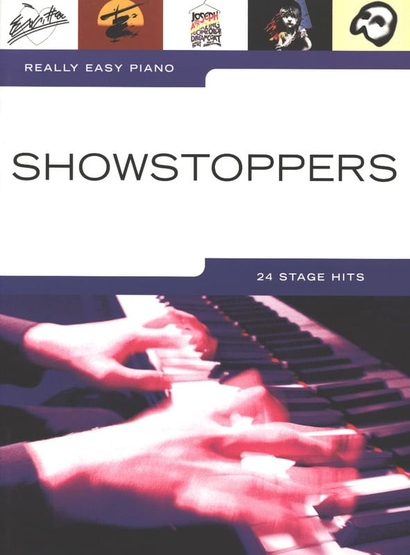 Really easy piano - Showstoppers - Partition - laflutedepan.com