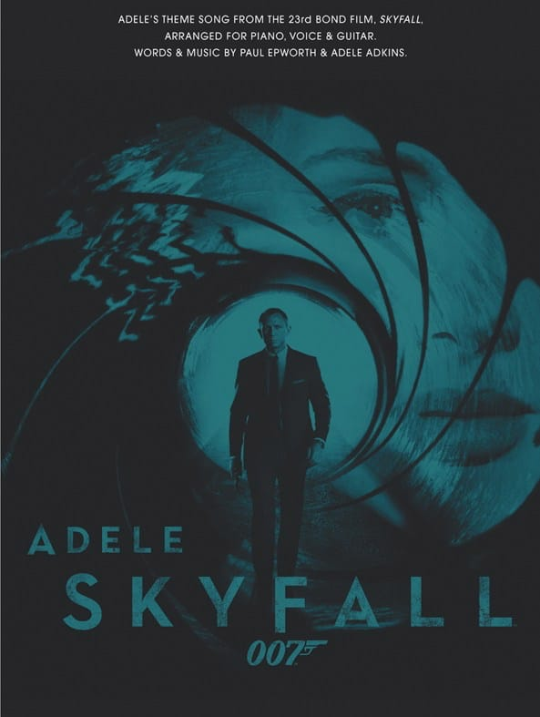 Adele - Skyfall - James Bond theme - Partition - di-arezzo.co.uk