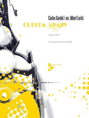 Cuesta abajo - Carlos Gardel - Partition - laflutedepan.com