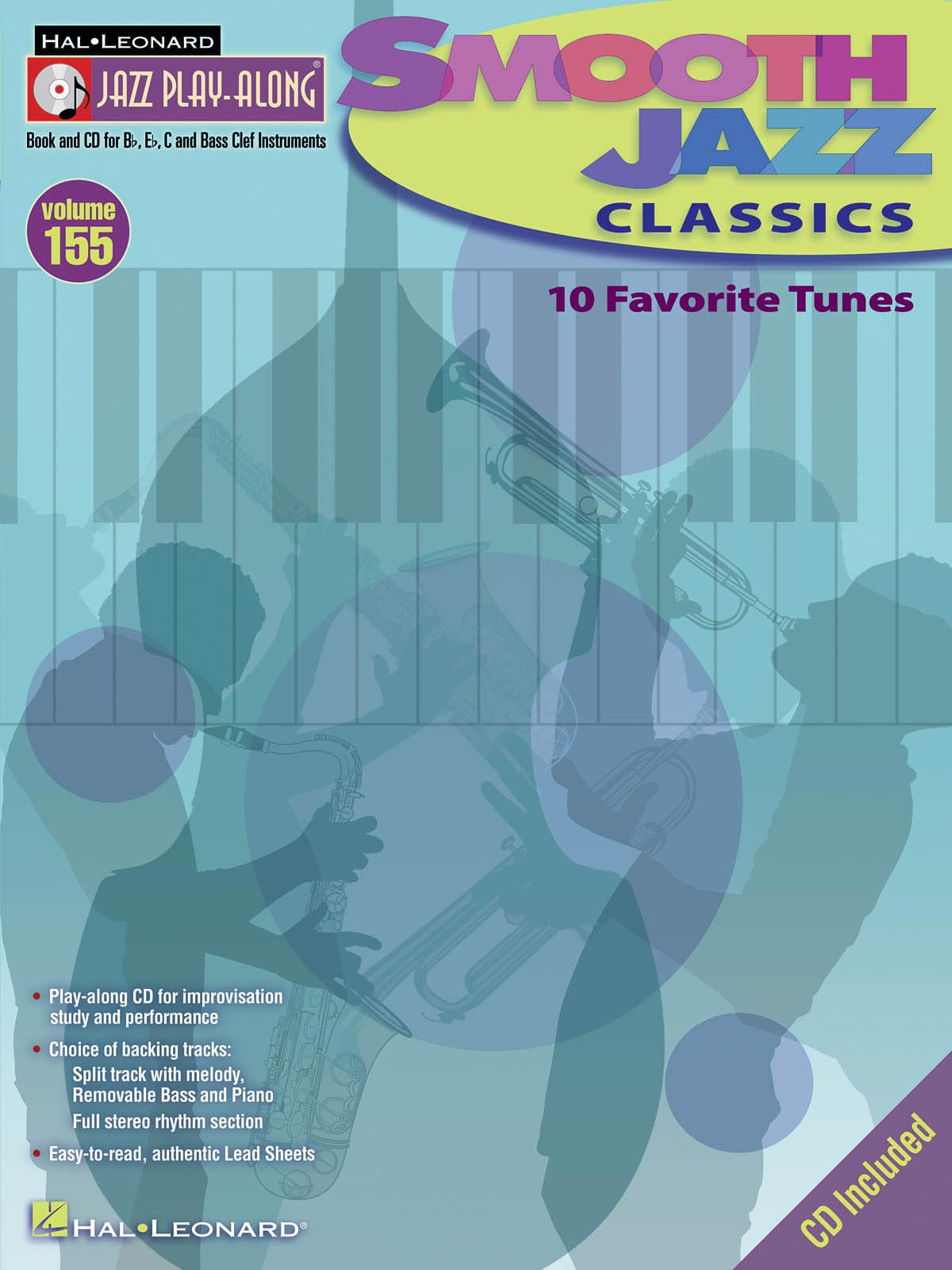 Jazz play-along volume 155 - Smooth Jazz Classics - laflutedepan.com