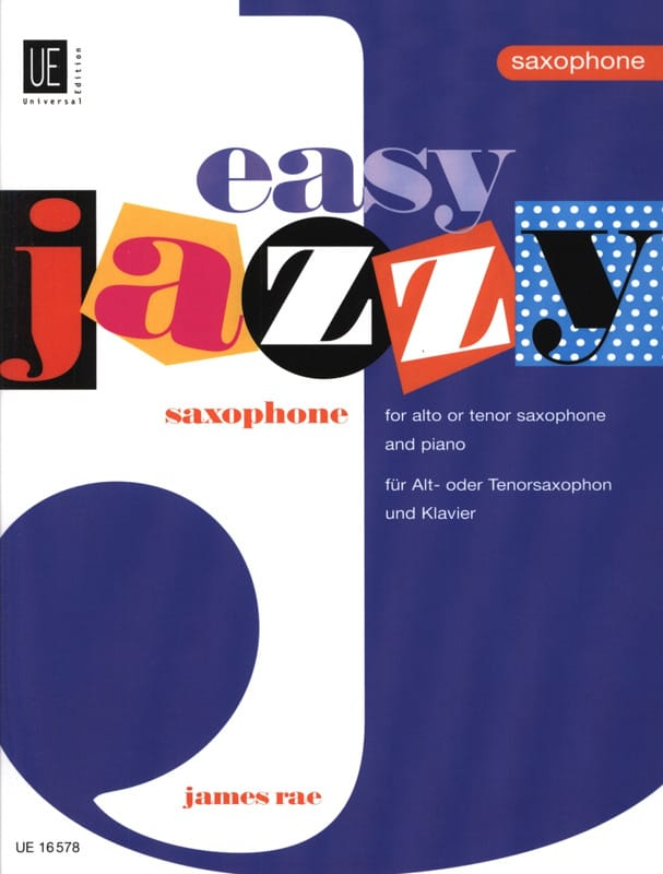 Easy jazzy saxophone - James Rae - Partition - laflutedepan.com