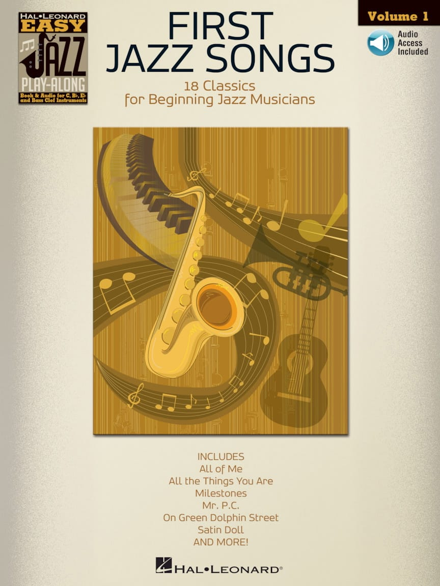 Easy jazz play-along volume 1 - First jazz songs - laflutedepan.com