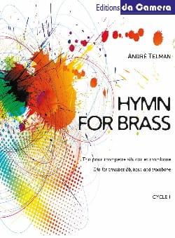 Hymn for brass - André Telman - Partition - laflutedepan.com