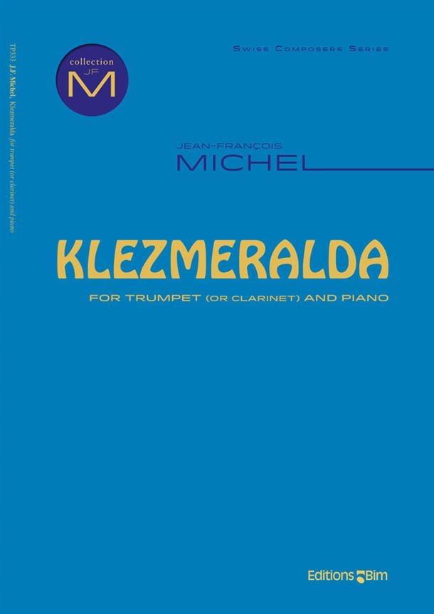 Klezmeralda - Jean-François Michel - Partition - laflutedepan.com