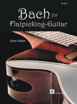 BACH - Bach for flatpicking-guitar - Partition - di-arezzo.fr