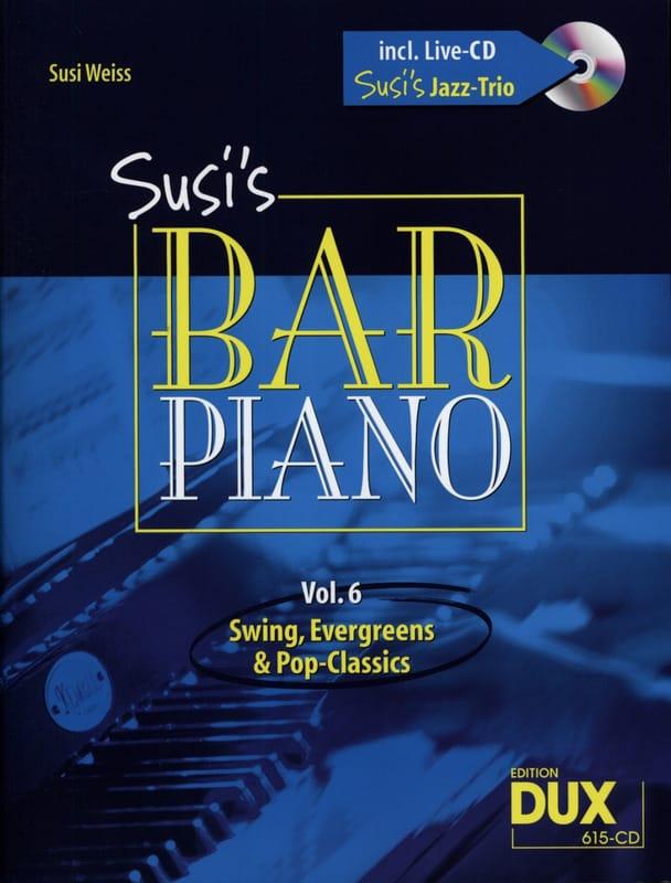 Susi's bar piano volume 6 - Partition - Jazz - laflutedepan.com