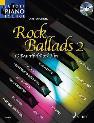 Rock ballads 2 - Partition - Pop / Rock - laflutedepan.com