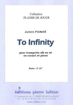 To Infinity - Julien Pondé - Partition - Trompette - laflutedepan.com