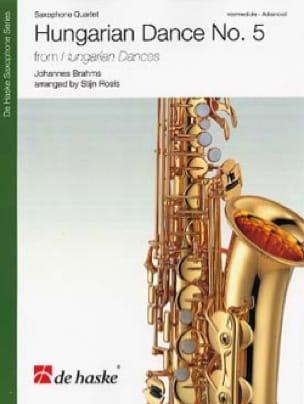 Danses hongroises N° 5 - Quatuor de Saxophones - laflutedepan.com