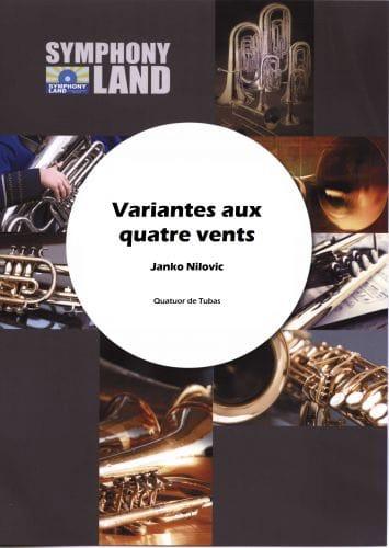 Variations aux quatre vents - Janko Nilovic - laflutedepan.com