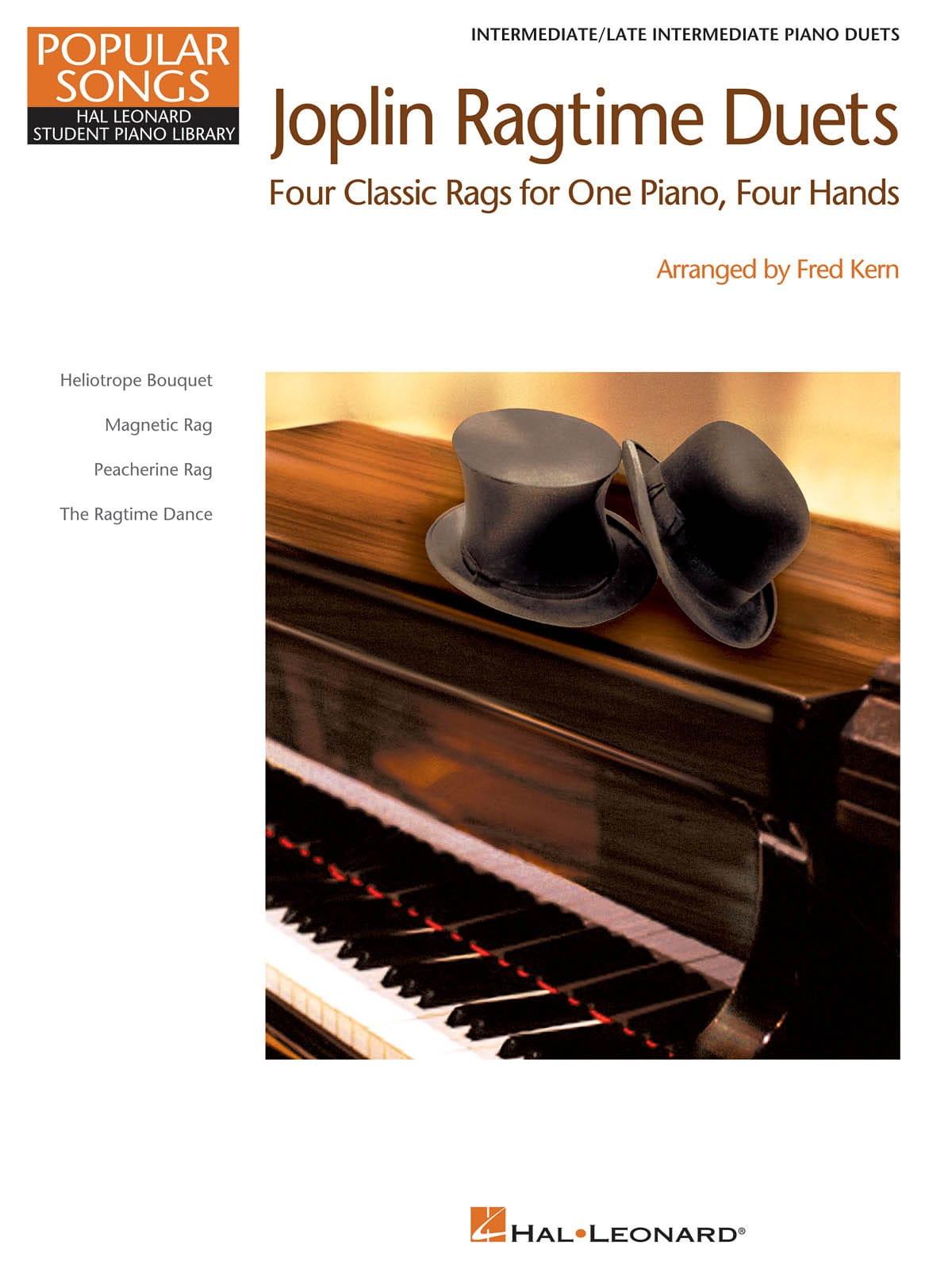 Joplin ragtime duets - JOPLIN - Partition - Piano - laflutedepan.com