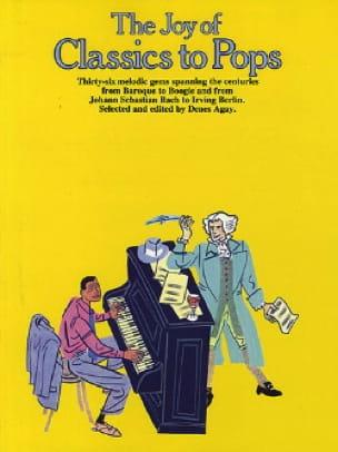 The joy of classics to pops - Partition - laflutedepan.com