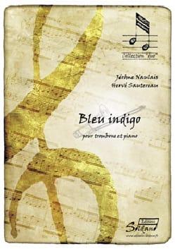 Bleu indigo - Jérôme Naulais - Partition - Trombone - laflutedepan.com