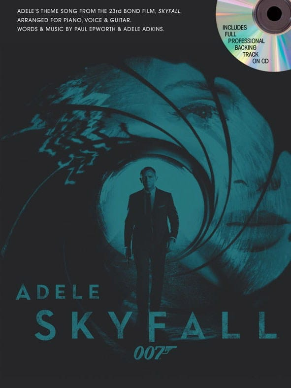 Skyfall - James Bond theme - Adele - Partition - laflutedepan.com