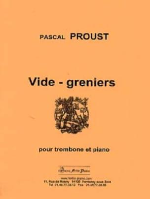 Vide-greniers - Pascal Proust - Partition - laflutedepan.com