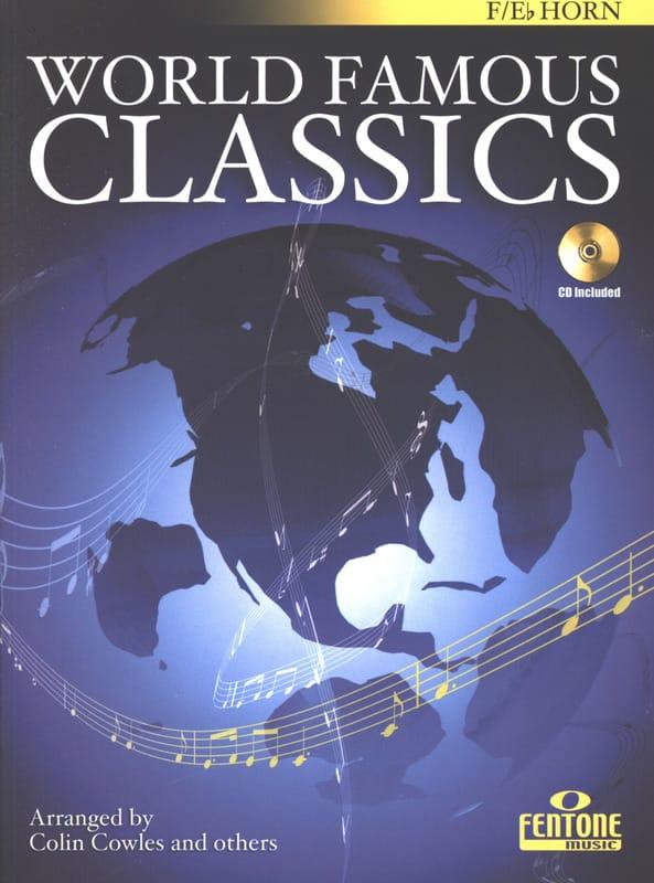 World famous classics - Partition - Cor - laflutedepan.com