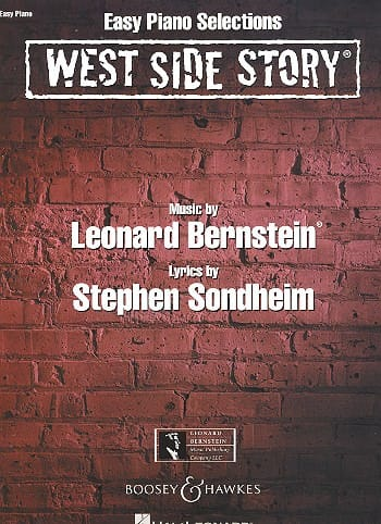 West side story - Easy piano selections - BERNSTEIN - laflutedepan.com