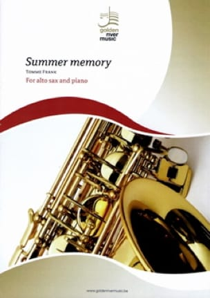 Summer memory - TOMME Frank - Partition - Saxophone - laflutedepan.com