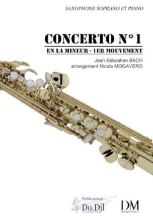 Concerto N° 1 en La mineur pour violon et orchestre - 1er mouvement - laflutedepan.com