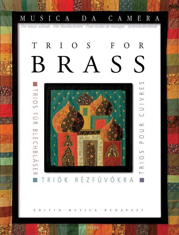 Trios for Brass - Pour écoles de musique - laflutedepan.com