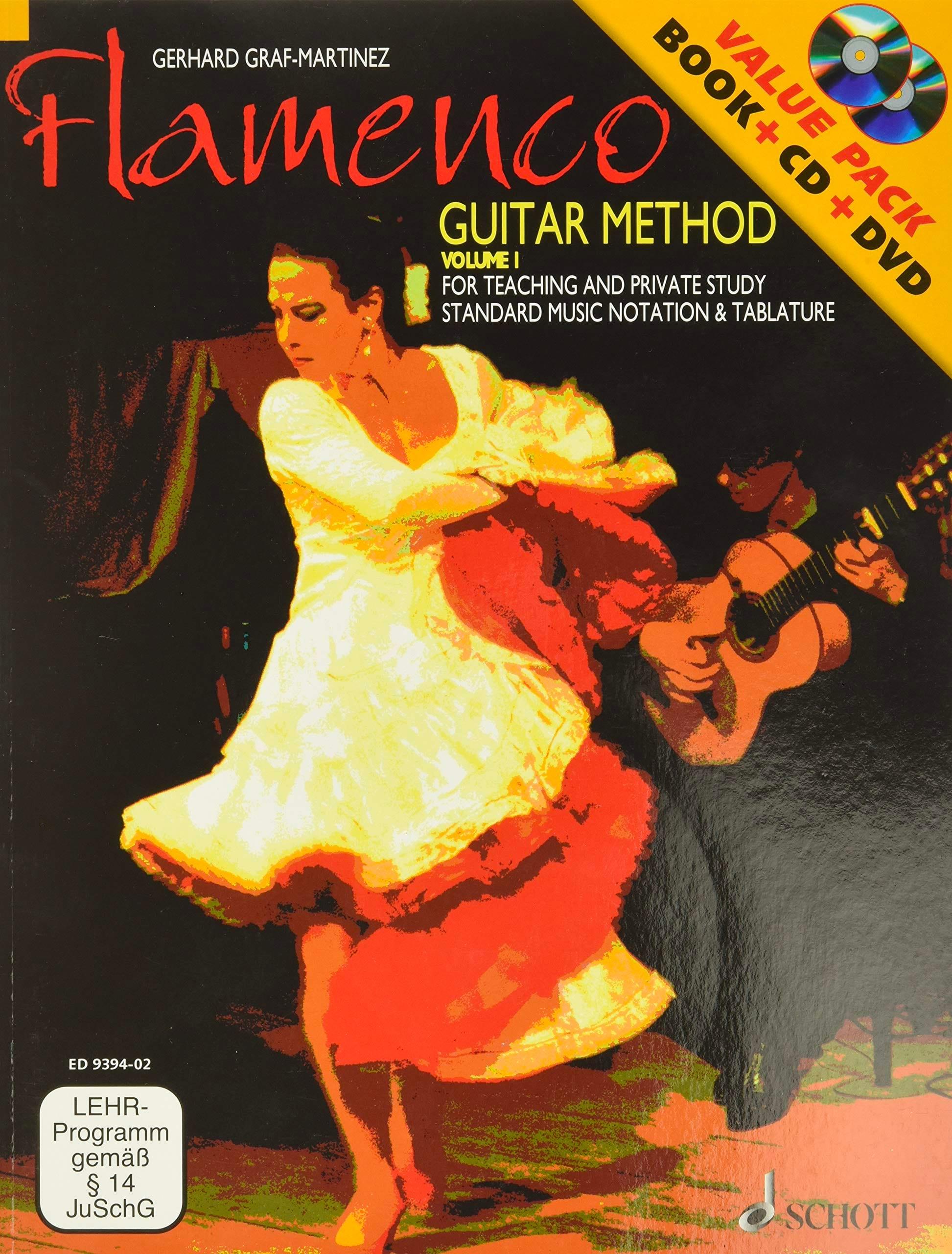 Flamenco - Guitar method volume 1 - laflutedepan.com
