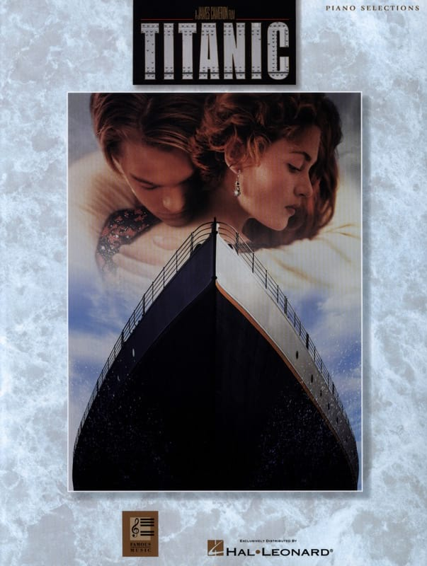 James Horner - Titanic - Piano selections - Partition - di-arezzo.co.uk