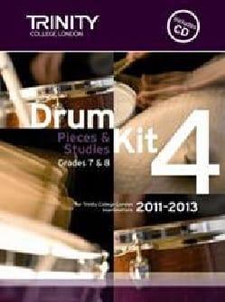 Drum kit 4 - Pieces & Studies Grades 7 & 8 - laflutedepan.com