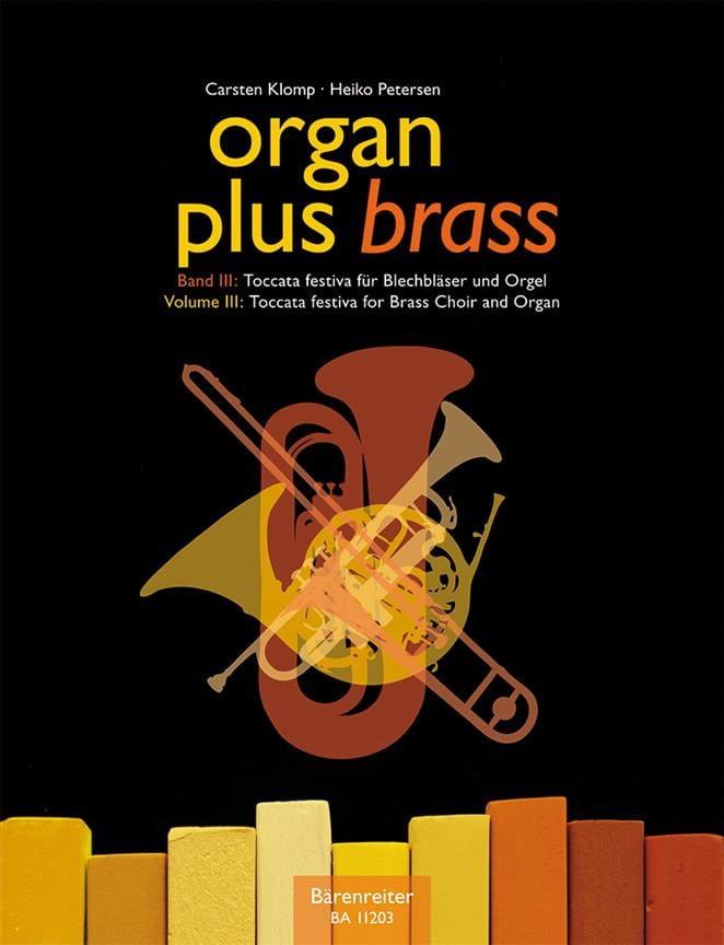 - Organ plus brass volume 3 - Toccata festiva - Partition - di-arezzo.fr