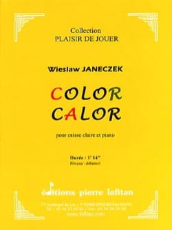 Color calor - Wieslaw Janeczek - Partition - laflutedepan.com