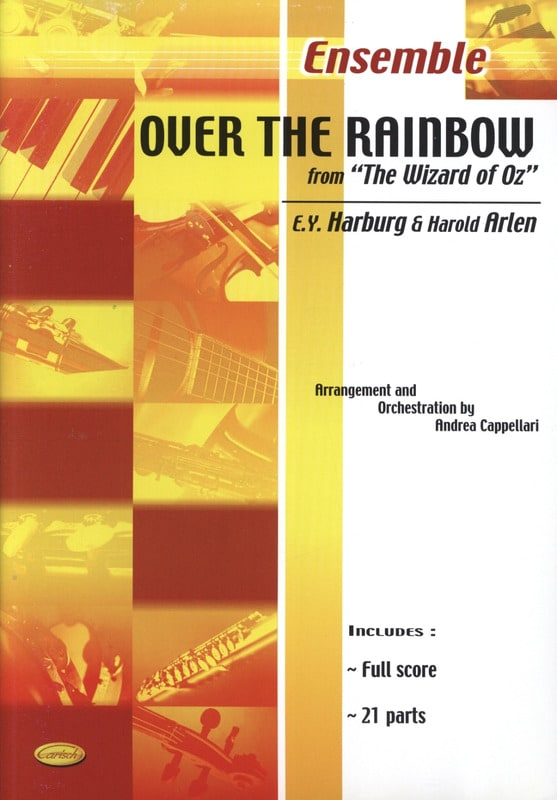 Over the rainbow from The wizard of Oz - laflutedepan.com