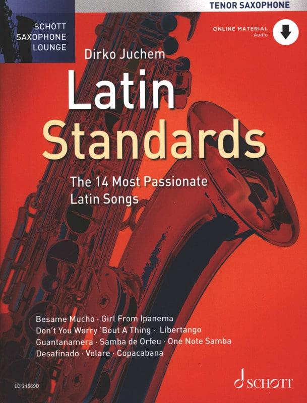 Latin standards - Partition - Saxophone - laflutedepan.com