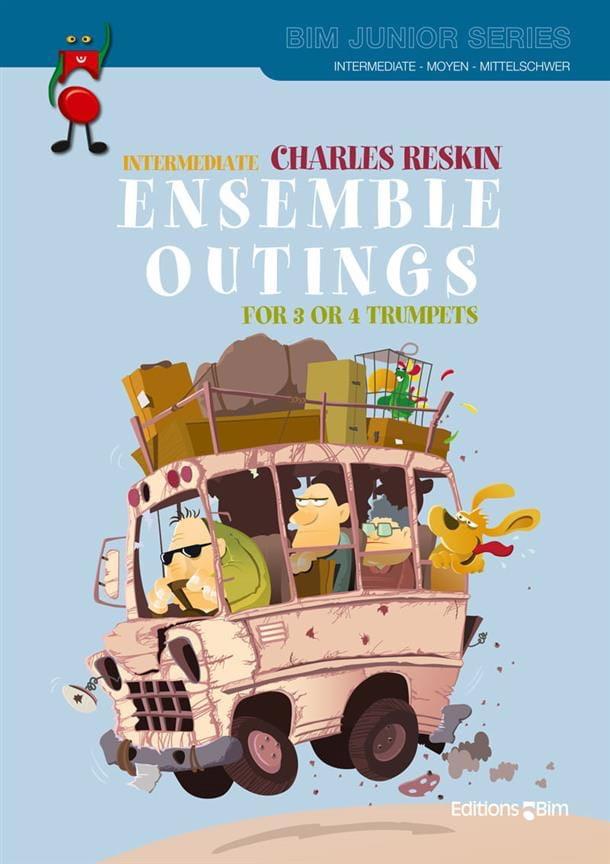 Intermediate ensemble outings - Charles Reskin - laflutedepan.com