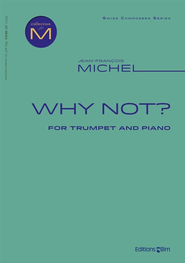 Why not? - Jean-François Michel - Partition - laflutedepan.com