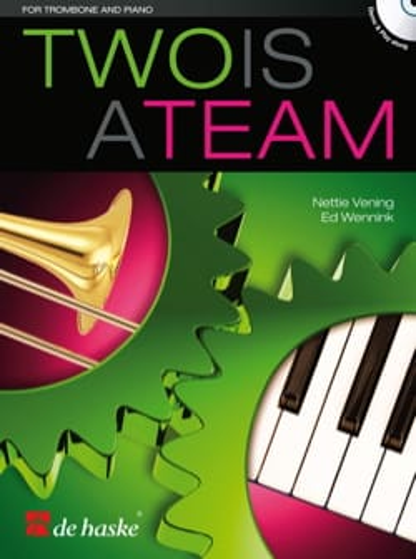 Two is a team - Vening Nettie / Wennink Ed - laflutedepan.com