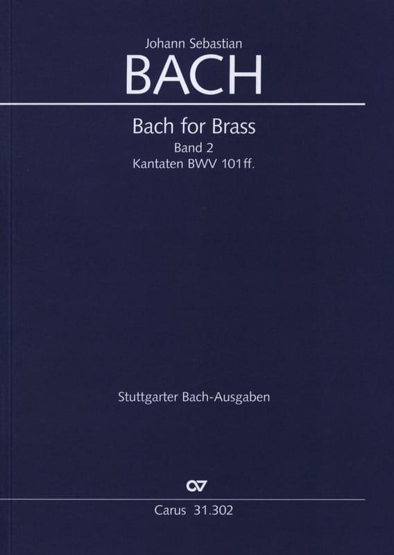 Bach for brass Band 2 - Kabtaten BWV 101ff. - BACH - laflutedepan.com