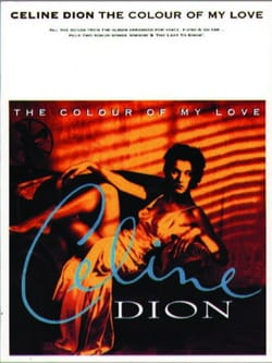 Celine Dion - The color of my love - Partition - di-arezzo.co.uk