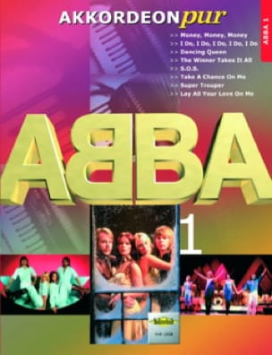 ABBA - Akkordeon Pur - ABBA 1 - Partition - di-arezzo.co.uk
