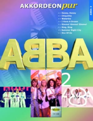 ABBA - Akkordeon Pur - ABBA 2 - Partition - di-arezzo.co.uk