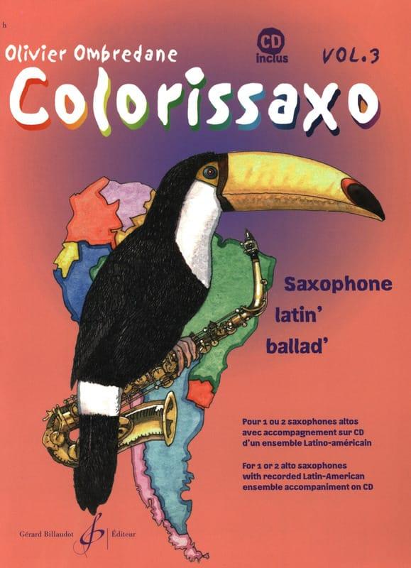 Olivier Ombredane - Colorissaxo - Volumen 3 - Partition - di-arezzo.es