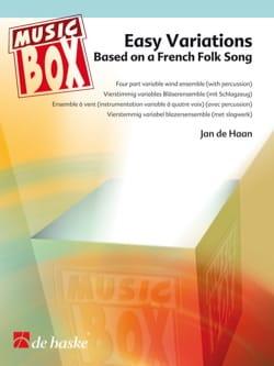 Easy variations - music box - Haan Jan de - laflutedepan.com