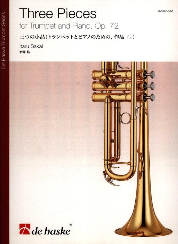 Three pieces opus 72 - Itaru Sakai - Partition - laflutedepan.com