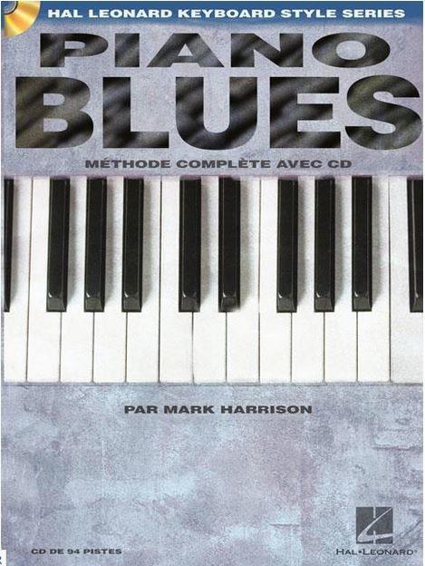 Mark Harrison - Blues Piano - French Edition - Partition - di-arezzo.co.uk