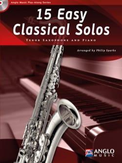 15 Easy classical solos - Partition - Saxophone - laflutedepan.com