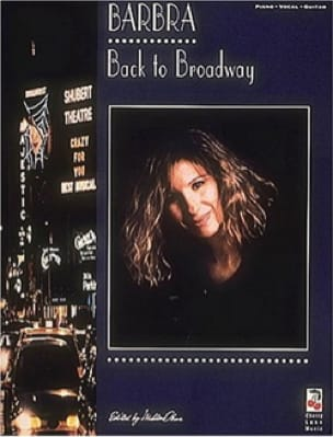 Barbra Streisand - Back to Brodway - Partition - di-arezzo.co.uk
