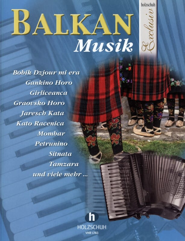 Holzschuh Exclusiv - Balkan musik - Partition - laflutedepan.com