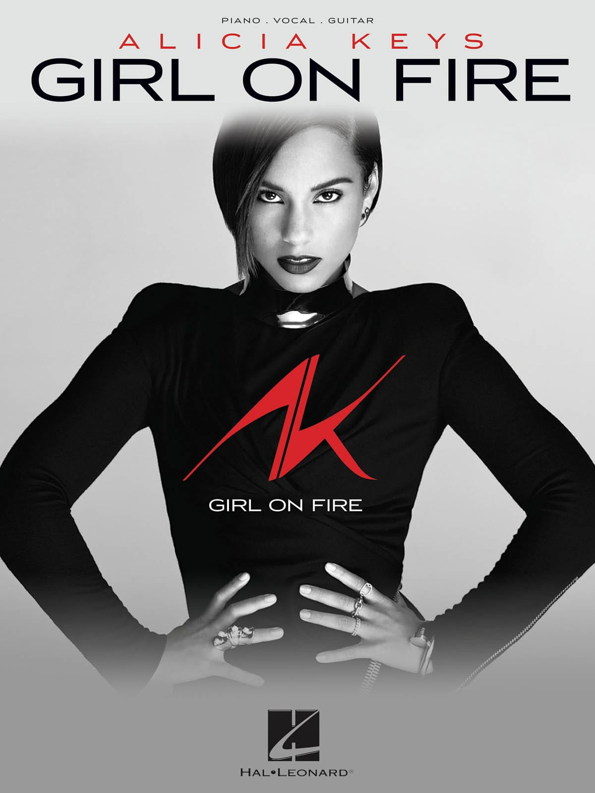 Alicia Keys - Girl on fire - Partition - di-arezzo.co.uk